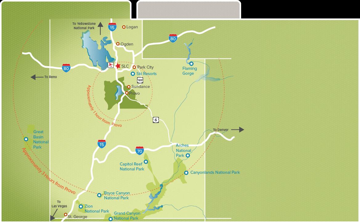 Utah Valley Maps | Explore Utah Valley